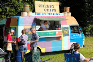 Our Chip Vans for hire – weddings, parties & corporate events