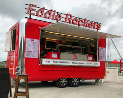 Eddie Rockets Mobile Catering Units